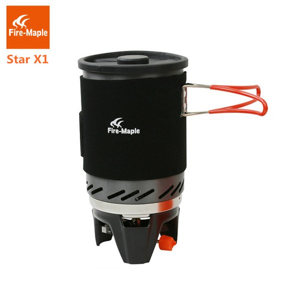 Fire Maple Star X1 Camping Stoves Outdoor Hiking Cooking System With Stove Heat Exchanger Pot Bowl Portable Gas Burners FMS-X1