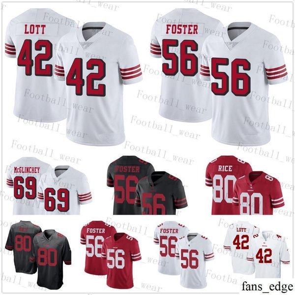 sports shoes 80240 d6074 2019 San Francisco Jersey 80 Jerry Rice 74 Joe Staley 69 Mike McGlinchey 42  Ronnie Lott 56 Reuben Foster 44 Juszczyk 49ers 29 Jaquiski Tartt From ...