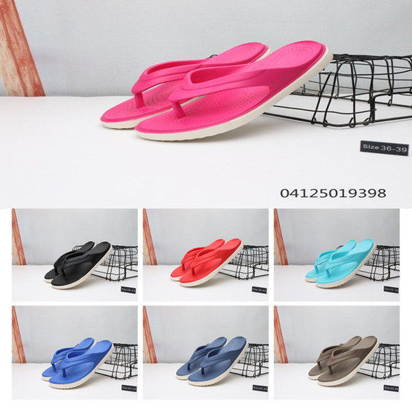 2019 Cheap Sale Wmns Solarsoft Thong 2 Summer Casual Flip Flops for High quality Blue Red Men Women Beach Print Slipper Size 36-44