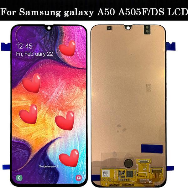 51a6f13719be2f 6.4''super amoled For Samsung galaxy A50 A505F/DS A505F A505FD A505A Display