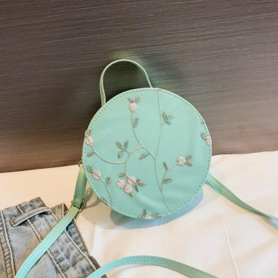 Round Bag Shoulder Handbag Pink Messenger Bag For Girls Shoulder Fashion Crossbody For Phone Printing Handbag Sac A Main