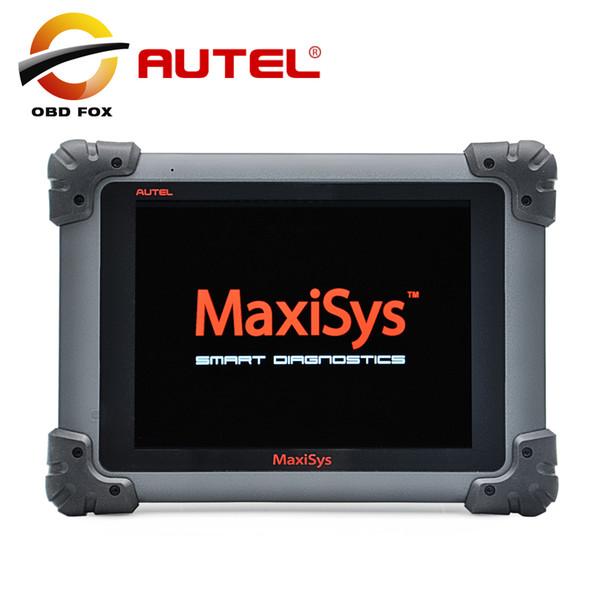 100% d'origine AUTEL MaxiSYS Pro MS908P AUTEL MaxiDas Maxisys pro DS708 Système de Diagnostic avec WiFi Haute livraison gratuite