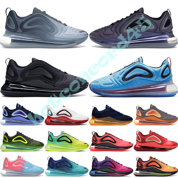 top popular Be True Mens Running Shoes Northern Lights Night Sea Forest Pink Sea Sunrise Sunset White Platinu Womens Designer Sneakers Trainers 36-45 2019