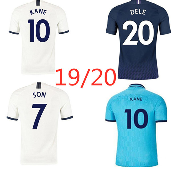 Kane Spurs Son Dele Eriksen Ndombele Soccer Jersey 2019 2020 Home Away Third Customizable Thai Quality Football Shirt Black Yellow Buy At The Price Of 33 73 In Dhgate Com Imall Com