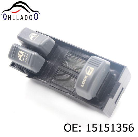 best selling HLLADO High Quality Power Window Master Switch 15151356 19244656 For G M C Chevrolet C K Series Blazer S10 Tahoe Car Accessories
