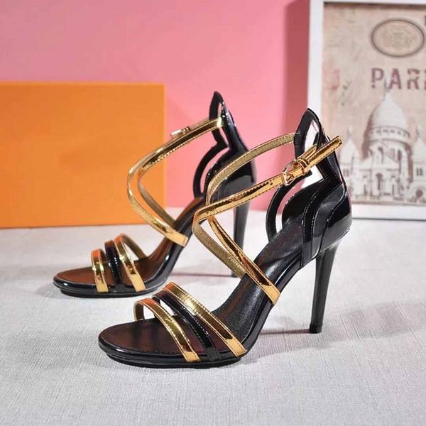 Tasarımcı kadınlar yüksek topuklu parti moda kızlar seksi sivri ayakkabı Dans ayakkabıları düğün ayakkabı sapanlar sandalet