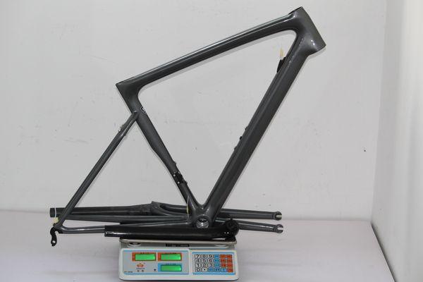 Cadre de couleur pour cadre de vélo de route super léger carbone 2019 pour vélo 825g 49 cm carbone partie 52/54/56/58 cm livraison gratuite