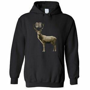 BuWholesale Doe Hoodie Hood Funny Oh Deer Pun Slogan Novelty Animal Pictoral Joke