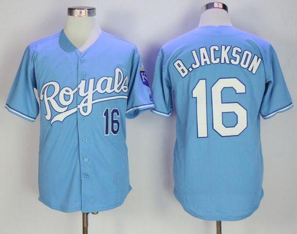 KC # 16 보 잭슨 라이트 블루
