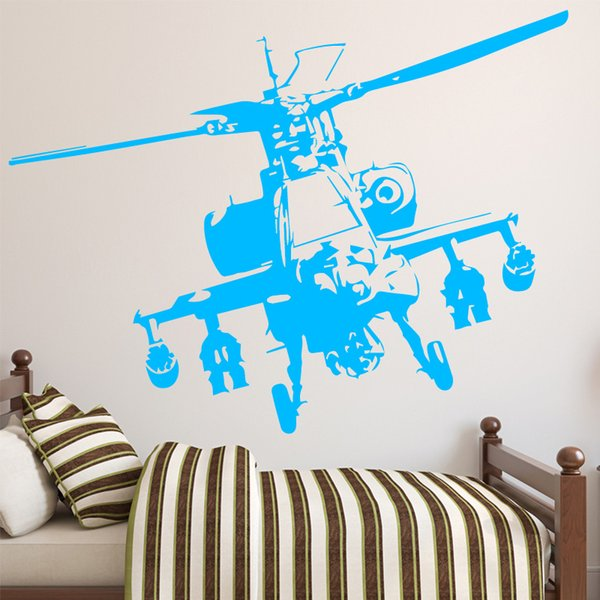 Creative Plane Pattern Wall Stickers For Boys Bedroom Wall Decals Removable  Vinyl Home Room Decor Mural Adesivo De Parede Vinyl Decals Wall Vinyl ...