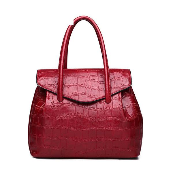 High Quality Personality Stone Pattern Ladies Handbag New Fashion Atmosphere Shoulder Bag Casual Wild Messenger Bag