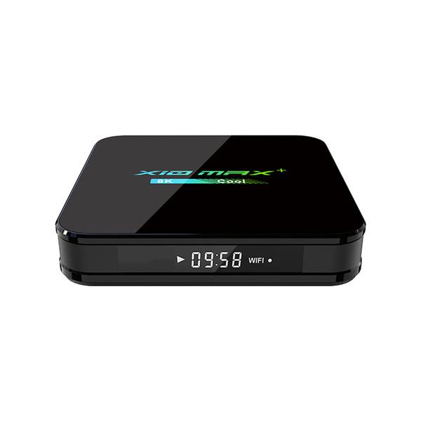 best selling X10 MAX PLUS Amlogic S905X3 TV Box Android 9.0 Quad Core 4GB 32GB 64GB Dual WiFi Bluetooth Better H96 Max HK1