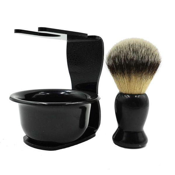 Shaving Brush Holder set brushes Holders anti-rust Beard Brush Stand for Salon Home Travel Use Man Shaving Soap Brush R0163