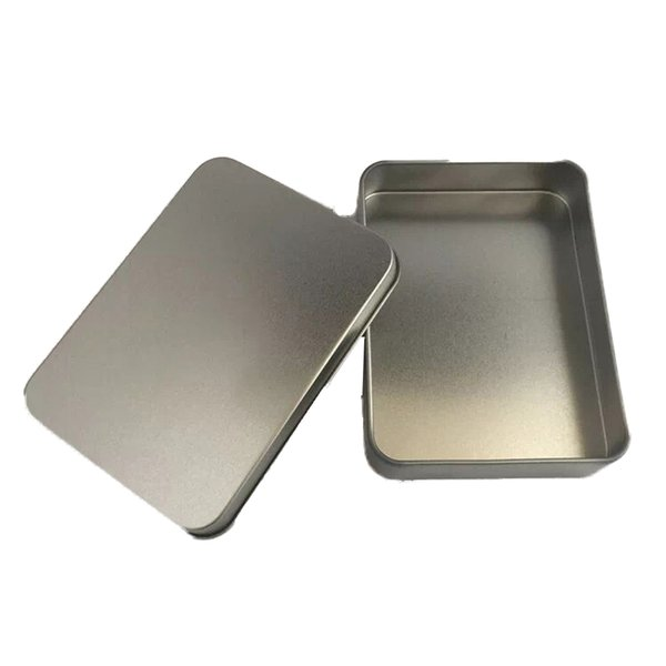 Tins Makes Survival Kit Tin Higen Lid Small Empty Flip Metal Storage Box Case Organizer For Money Coin Candy Keys Packaging Tins