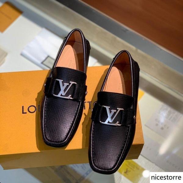 iduzi Hommes Chaussures de mariage formel de luxe Hommes d'affaires Robe Chaussures Hommes Chaussures Mocassins Pointy Big Taille cuir Zapatos de hombre