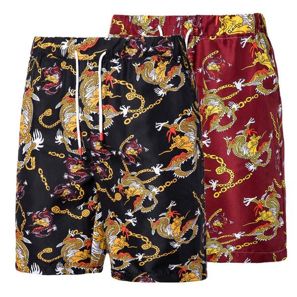 Homens Praia Shorts M-5XL Plus Size Swimwear Dos Homens Swim Shorts Surf Board Surf Verão Maiô Bermuda Beachwear Troncos Curto