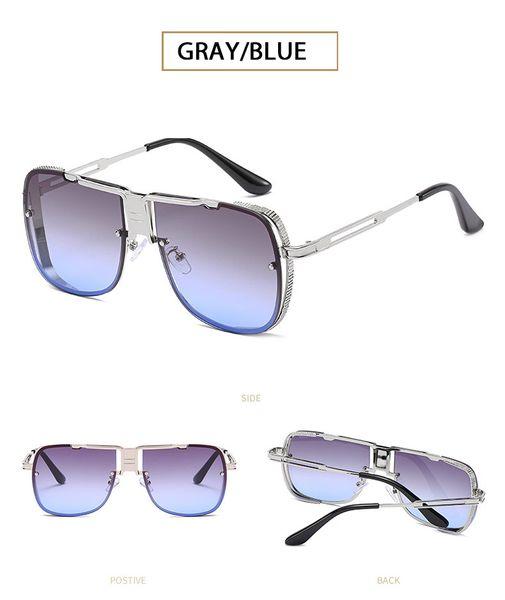 Plata / Gris Azul