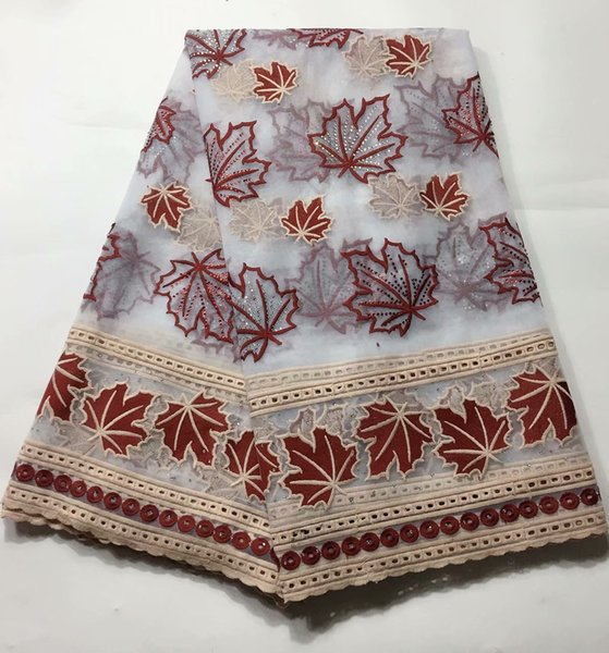 Hot Sell New Arrival Lace Embroidery African lace Fabrics High Quality Water soluble lace wedding