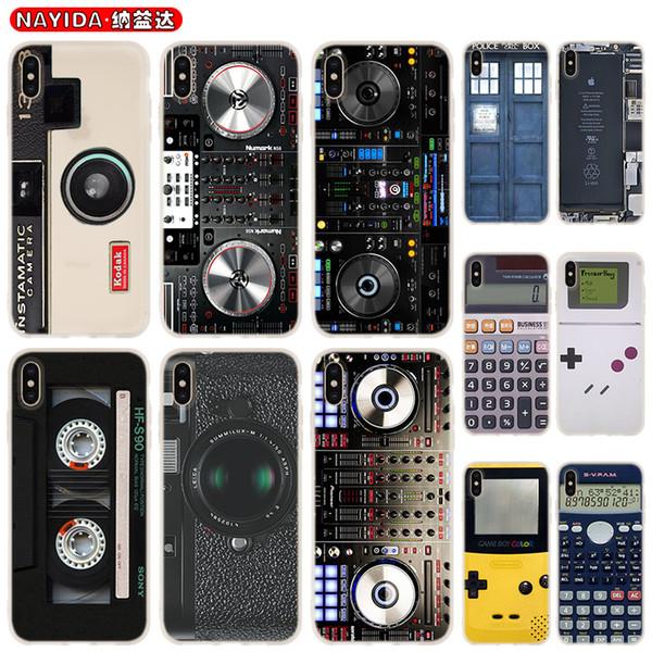 Telefone Case Capa Para Coque Xiaomi redmi 4X 4A 6A 7a Y3 K20 5 Plus Nota 8 7 6 5 Pro Remanescente do clássico Camera Calculator Bateria