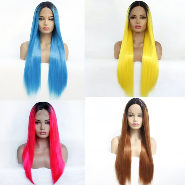 High Quality Ombre Hair Wig Lace Front Wigs