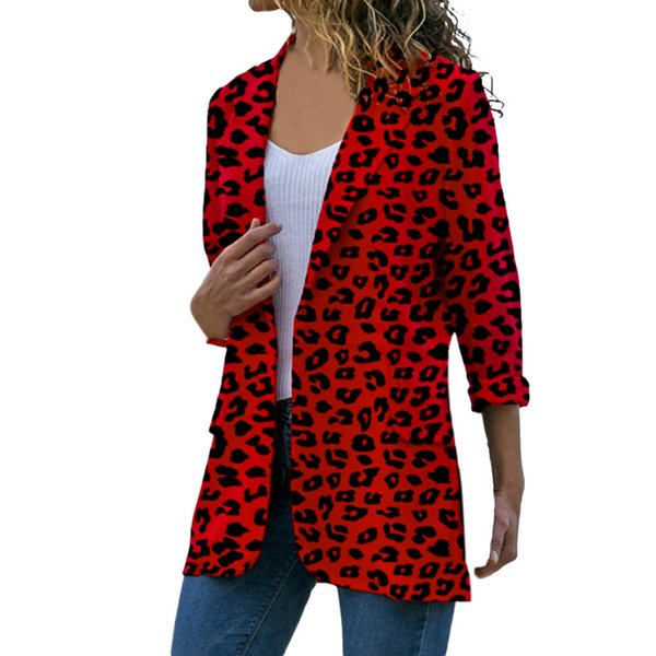 cardigans leopard coat woman casual plaid ong sleeve female jacket 2018 new wool coat winter women winter woman coats c8121 - from $22.87