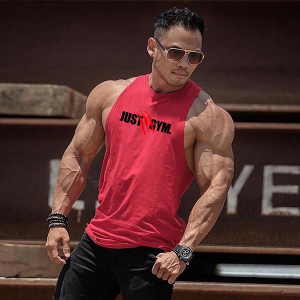 2020 Summer Gym Workout sans manches Débardeur Hommes Bodybuilding Vêtements Hommes Fitness Sportwear Gilets Hommes Musclés Débardeurs