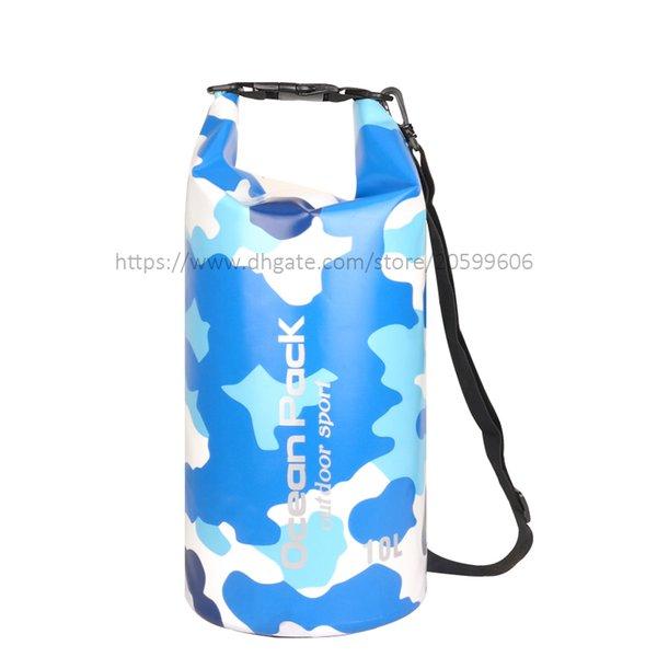 Blue Camouflage Colors 20L