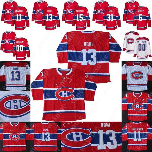 Montreal Canadiens Jersey Max Domi Jesperi Kotkaniemi Jonathan Drouin Tomas Tatar Carey Price Brendan Gallagher Shea Weber Phillip Danault