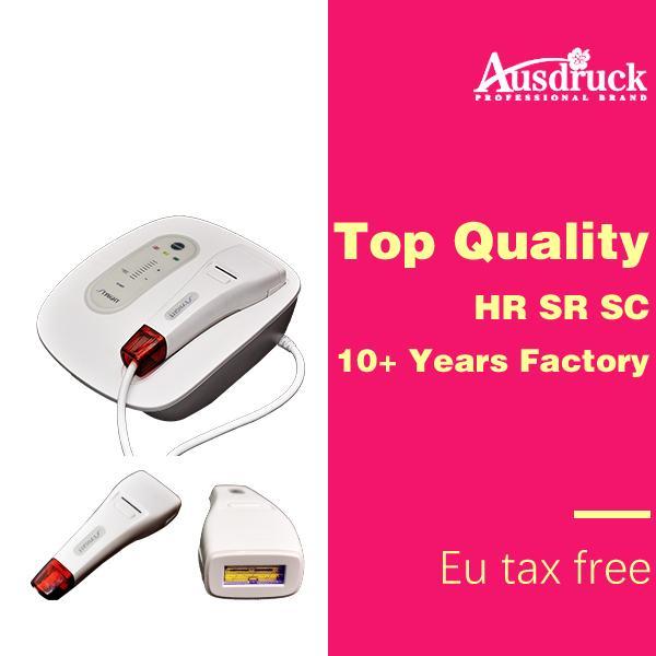 UE libre de impuestos máquina IPL portátil para el retiro del pelo y el rejuvenecimiento de la piel en el hogar dispositivo de cuidado de la piel con CE
