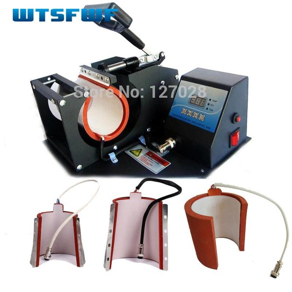 Wtsfwf Hot 4in1 Digital Mug Subl Transfer Printer Machine Mug Heat Press Printer Machine