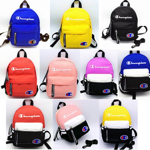 10styles Letter anti-lost Backpack kids Shoulder Bags Rucksack Students children School Bag Sports outdoor Travel Storage Rucksack FFA2153