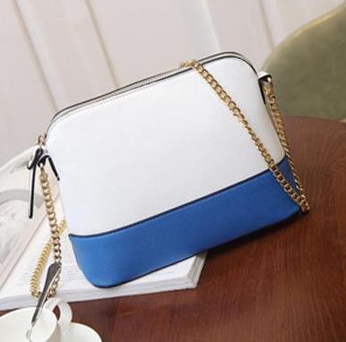 Weiß + Blau