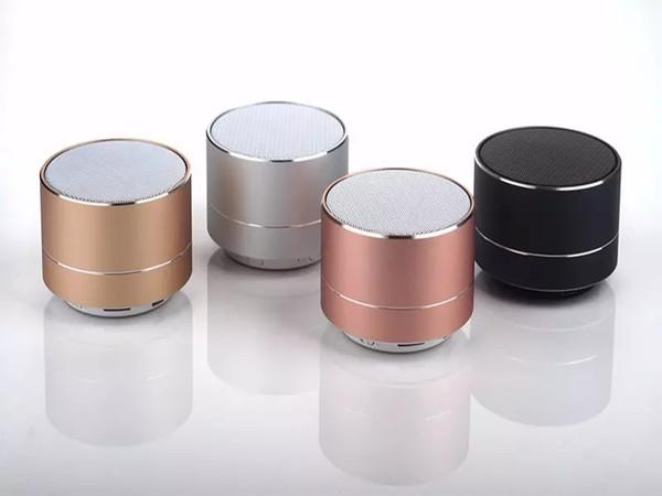Fábrica nuevo LED MINI altavoz Bluetooth A10 TF USB FM inalámbrico de música portátil caja de sonido Subwoofer Altavoces para el teléfono PC altavoz barato