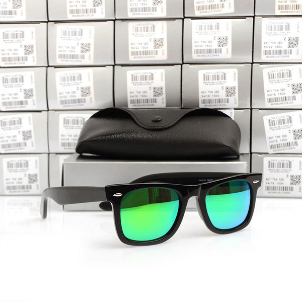 Black Frame green Lens 50MM