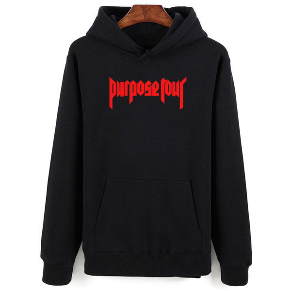Justin Bieber Hoodies Men/women Black Cotton Cap Sweatshirt Justin Bieber Men's Hoodies And Sweatshirt Clothes Plus Size 4xl