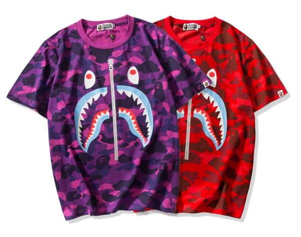 YYYY Newr design hot Sale Marque Vêtements Hommes Imprimé Coton Shirt T-shirt Hommes Femmes T-shirt Hip Hop O-cou À Manches Courtes