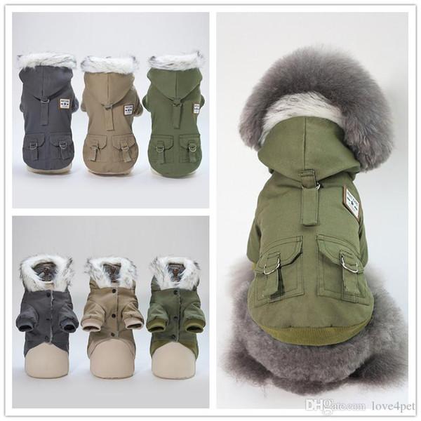 F114 köpek kış ceket pet köpek sıcak ceket kış giysileri sıcak kış ceket 2019 yeni stil