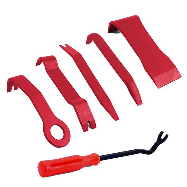 5 pezzi strumento di rimozione del pannello E + dispositivo di rimozione del fissaggio