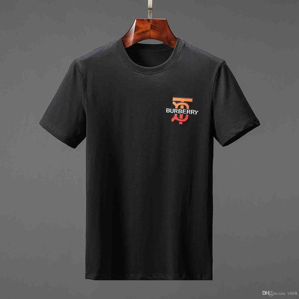 19SS plus récent G serpent occasionnels de la mode de marque T-shirt à manches courtes hommes Homme T-shirt O-cou Medusa hommes DOG Lettre Polo Tee shirt Tops