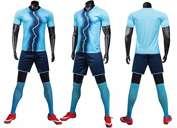 top popular Sports suit men's fitness short-sleeved T-shirt running wear fast dry clothes training wear light board team customized LOGO printing 2019