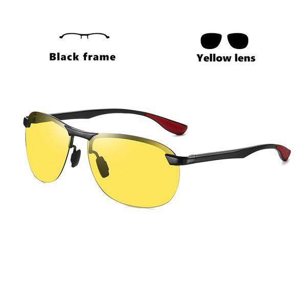 Schwarzer Rahmen-gelb