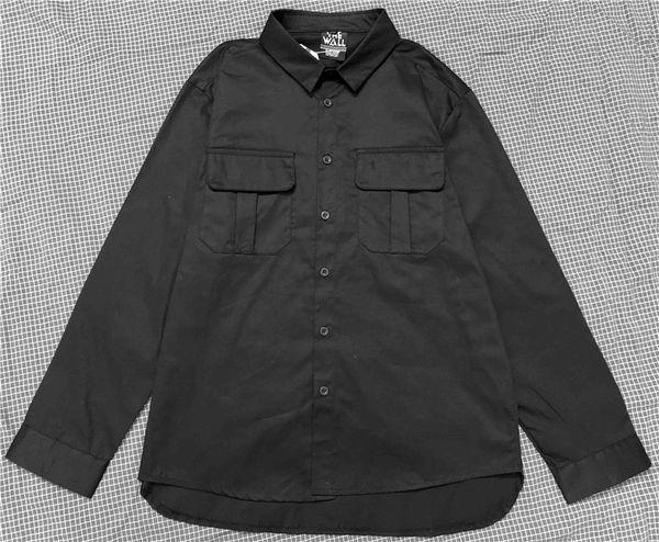 Camicia da uomo Camicia estiva a maniche lunghe a righe stampata Pittura Camicia casual da uomo casual di grandi dimensioni Camicia casual da uomo.
