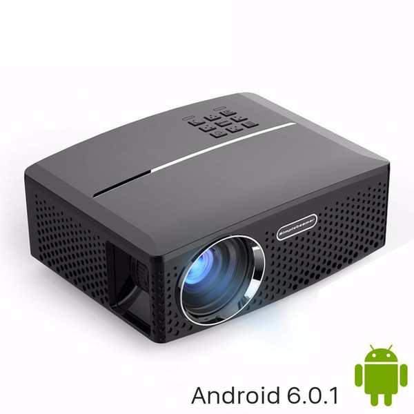 Wholesale- VIVIBRIGHT LED Projector GP80 / UP. 1800 Lumens. (Optional Android 6.0.1, WIFI, Bluetooth Simple Beamer) Support Full HD, 1080P