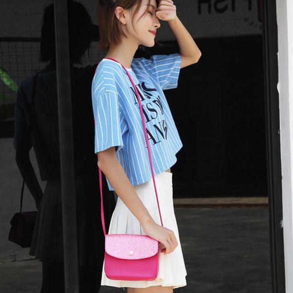 Cheap Fashion Women Sequins Pearl Cover Cross body Bag mini Messenger Bags Shoulder Designer Embossing Coin leather handbags