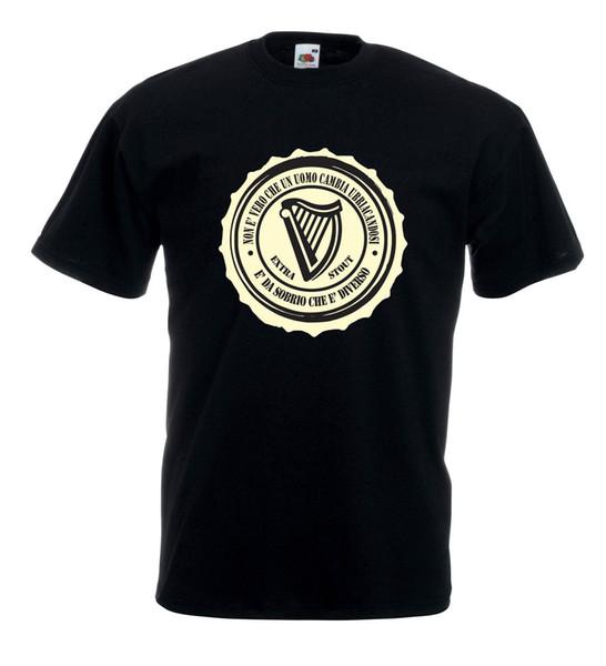 Camiseta Maglietta J1133 Detti sul Bere Guinness Birra Fun Fairylands Festival