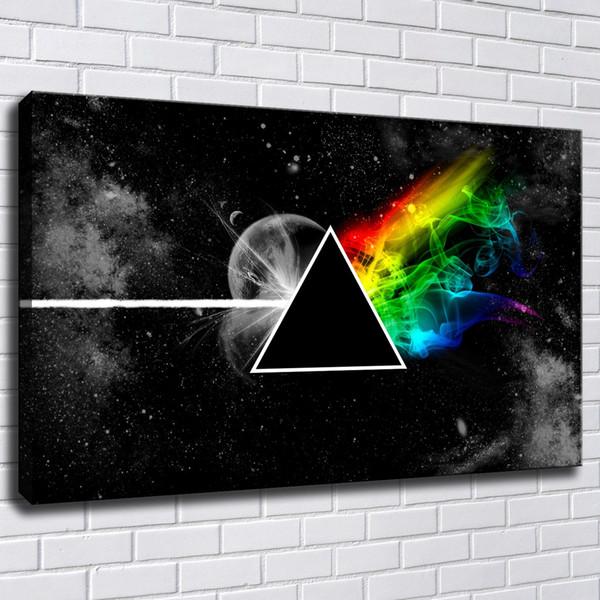 Pink Floyd peinture Toile Peinture Cadre Imprimer Photos Pour Salon Home Decor Abstrait Mur Art Peinture À L'huile Affiche