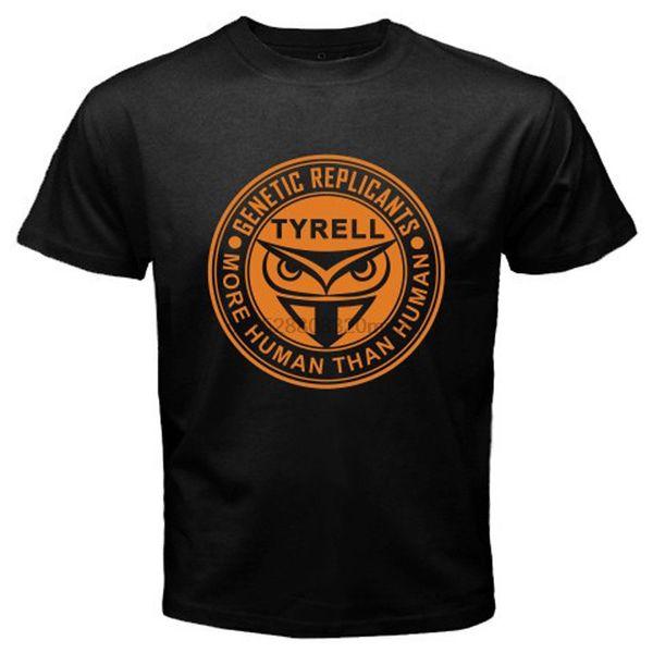 Nueva Blade Runner Tyrell Corp. Logotipo retro Hombres Negro de la camiseta del tamaño S-3XL de la nueva marca-Ropa Camisetas superior tee