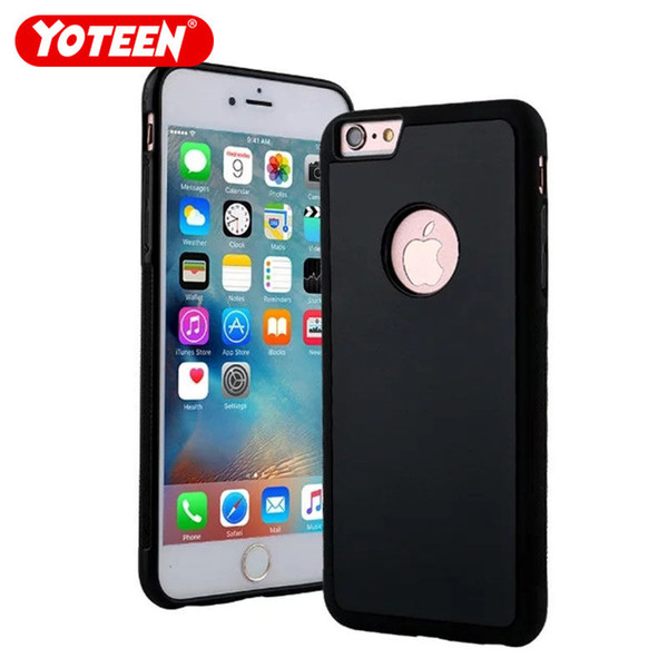 Yoteen For iPhone 5/6/7/8 Plus Mansion Anti Gravity Selfie Case Nano Adsorption for iPhone XS Max Adsorption Magical Sticky