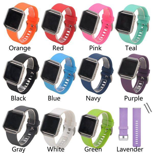 Cinturino in silicone più economico per Fitbit Blaze Smart Fitness cinturino cinturino a sgancio rapido Loop cinturino da polso Bracciale