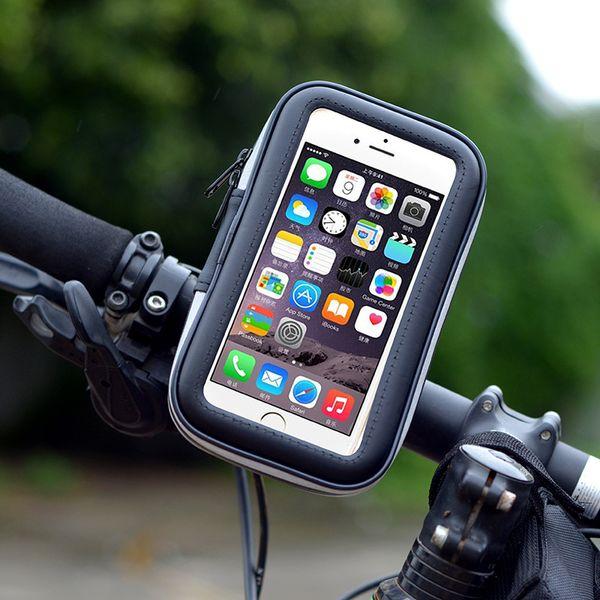 Vendita calda Staffa per bicicletta Borsa impermeabile Mountain Bike Borsa per cellulare Guida Touch Screen per cellulare